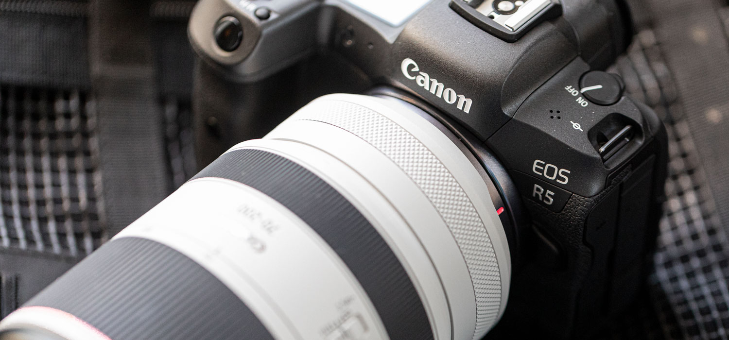 Photo - Canon R5 Mirrorless Camera Rental