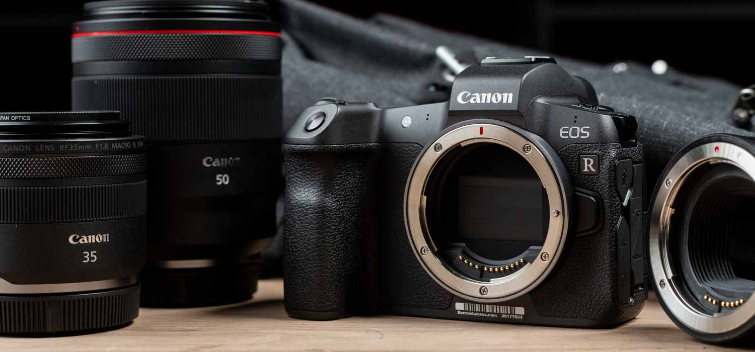 Canon EOS R Mirrorless Camera and Lenses