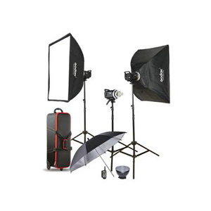 Godox MS300 3-Light Studio Flash Kit
