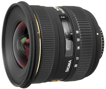 Sigma 10-20mm f/4-5.6 EX DC HSM for Nikon