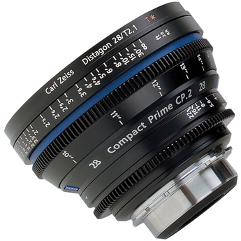 Zeiss Compact Prime CP.2 28mm/T2.1 Micro 4/3 Mount
