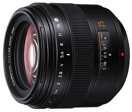 Panasonic Leica D Summilux 25mm f/1.4 AF Lens for Four Thirds (L-X025 Version)
