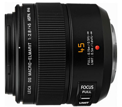 Panasonic Leica 45mm F2.8 Macro ASPH/MEGA O.I.S. Lens for Micro Four Thirds