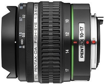 Pentax 10-17mm f/3.5-4.5 Zoom Fisheye to Super Wide-Angle SMCP-DA ED