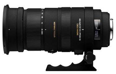 Sigma 50-500mm f/4.5-6.3 APO DG OS HSM for Sony