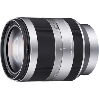 Sony E-Mount 18-200mm f/3.5-6.3 OSS