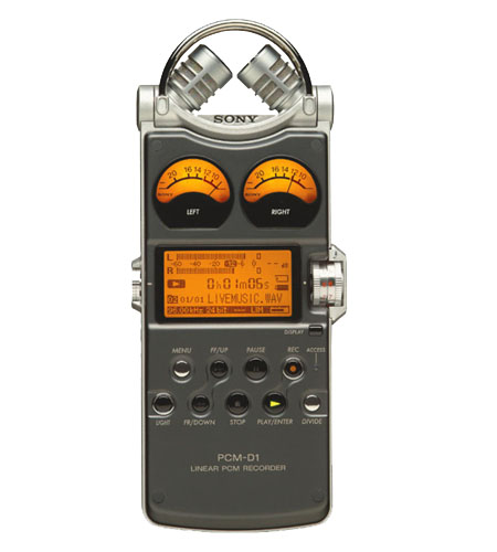 Sony PCM-D1 - 2-Channel Portable Audio Recorder