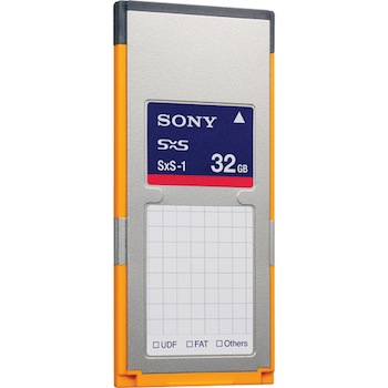 Sony SxS 32GB Memory Card