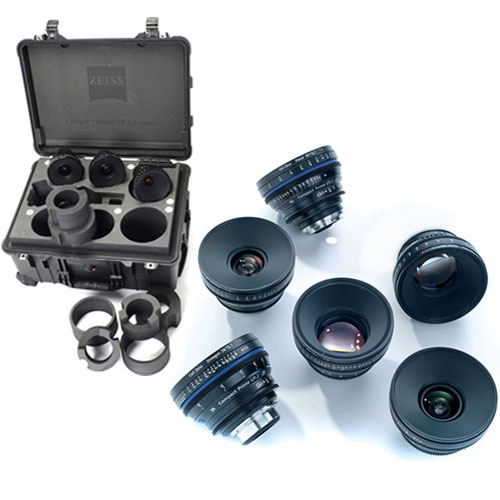 Zeiss Compact Prime CP.2 Cinema Lens Set (PL Mount)