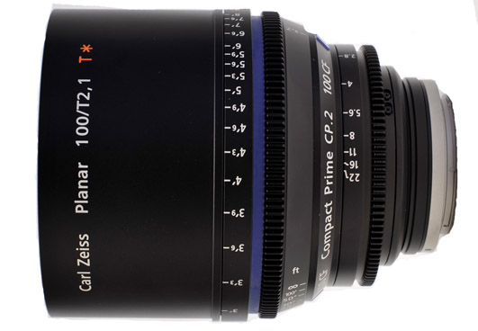 Zeiss Compact Prime CP.2 100mm/T2.1 Micro 4/3 Cine Lens