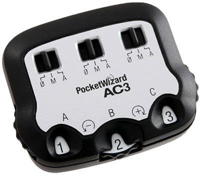 PocketWizard AC3 ZoneController for Nikon