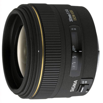 Sigma 30mm f/1.4 EX DC HSM for Nikon