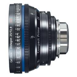 Zeiss Compact Prime CP.2 25mm/T2.9 MFT Mount