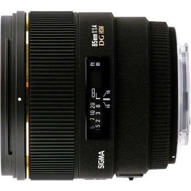 Sigma 85mm f/1.4 EX DG HSM Lens For Sony