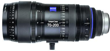 Zeiss 70-200mm T2.9 Compact Zoom CZ.2 Lens (EF Mount)