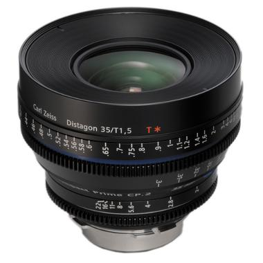 Zeiss Compact Prime CP.2 35mm/T1.5 Super Speed Micro 4/3 Mount
