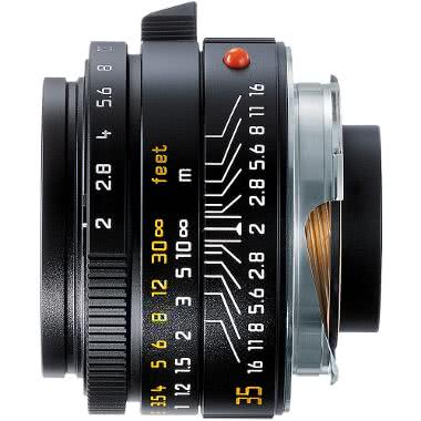 Leica 35mm f/2.0 Summicron-M Aspherical Manual Focus Lens