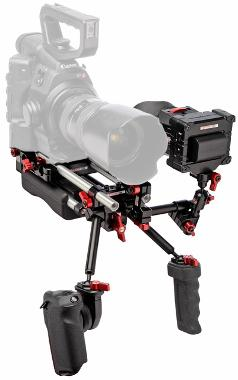 Zacuto Canon Cinema Shoulder Mount Rig for C100/C300/C500