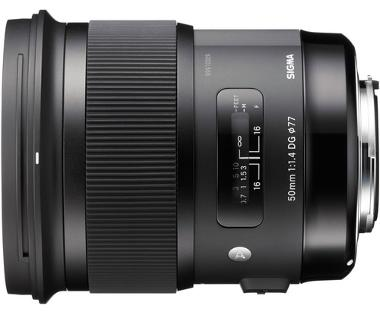 Sigma 50mm f/1.4 DG HSM Lens for Nikon