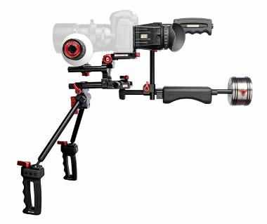 Zacuto Double Barrel DSLR Camera Rig