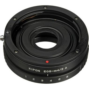Bower Micro 4/3 Camera to Canon EOS Lens Adapter with Aperture