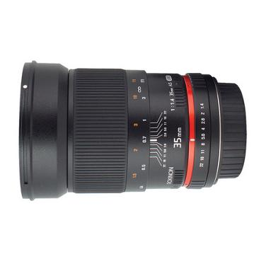Rokinon 35mm f/1.4 US UMC Wide-Angle Lens for Canon