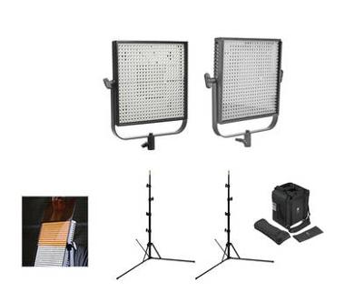 Litepanels 1x1 Flypack Bi Color LED Kit