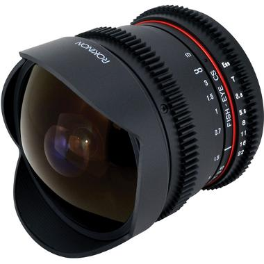 Rokinon 8mm T3.8 Fisheye Cine Lens for Canon