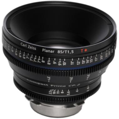 Zeiss Compact Prime CP.2 85mm/T 1.5 Super Speed PL Mount