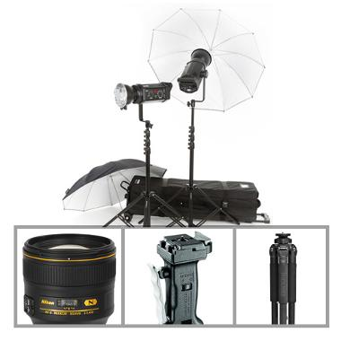 Portrait Essentials Package - Studio Use (No Body) - Nikon