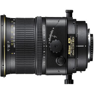 Nikon 45mm f/2.8D ED PC-E Tilt-Shift