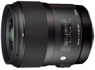 Sigma 35mm f/1.4 DG HSM A1 Lens for Canon